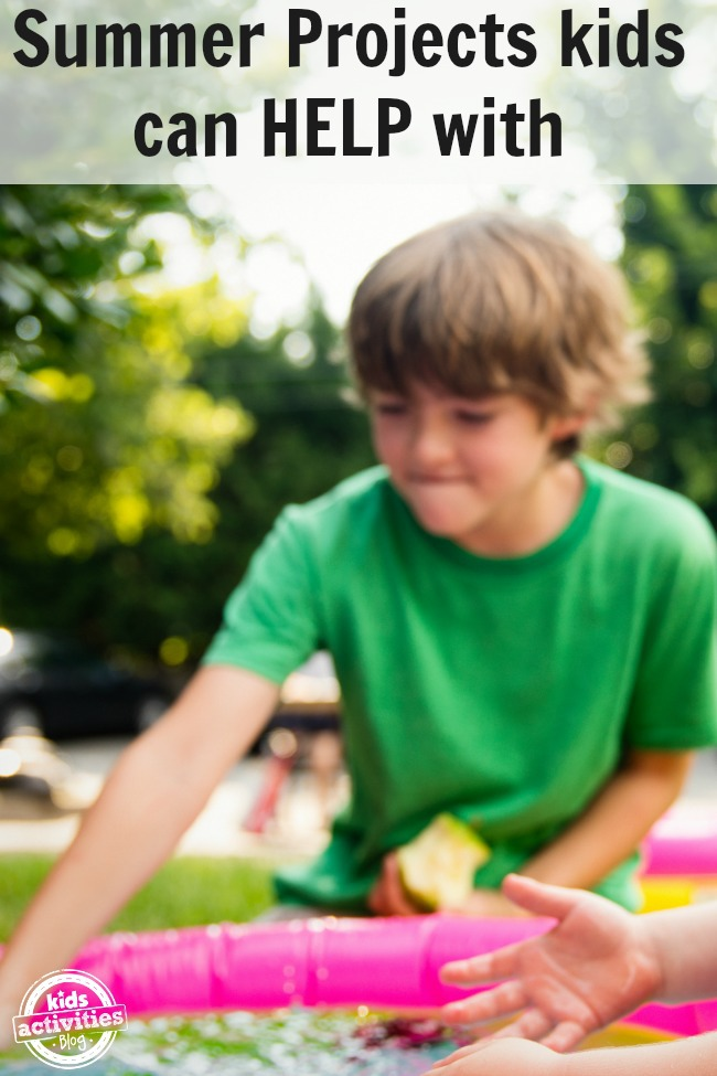 summer projects for kids