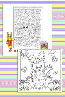 Easter Egg Coloring Contest + Free Printables