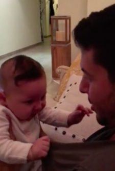 Bashful Baby Can't Handle Compliments