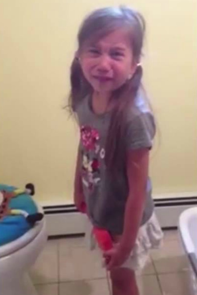 Little Girl Heartbroken When She Finds Out Her Favorite