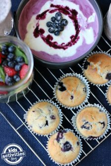 5 Fresh Spring Recipes Featuring Blueberries!
