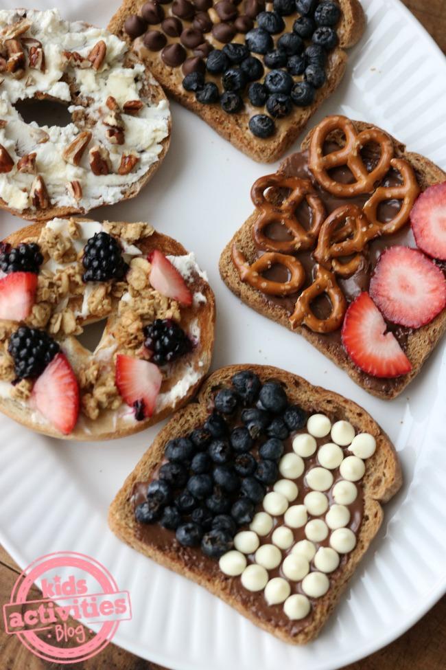 5 Inspired Ideas to Make Toast Fun to Eat!