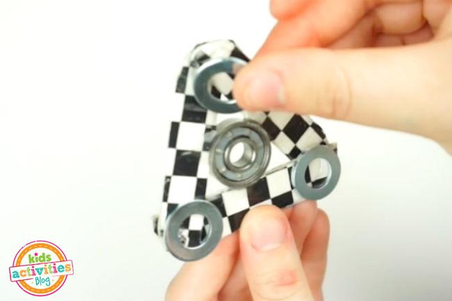Add Weight to Fidget Spinner