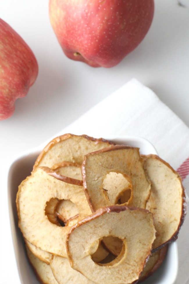 Kids Snacks: Apple Chips
