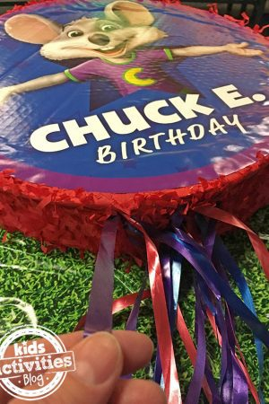 Celebrate with Chuck E. Cheese's while they go for a Guiness World Record!