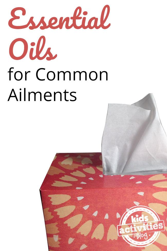 Essential Oils for Common Ailments