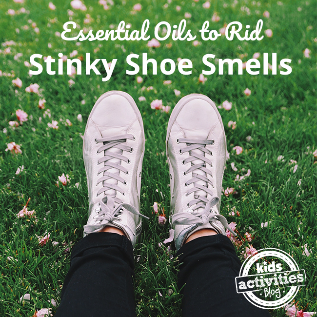 Essential Oils to Rid Stinky Shoe Smells