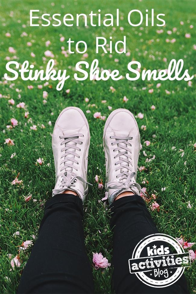 Essential Oils to Rid Stinky Shoe Smells