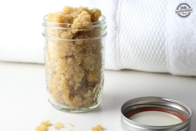 Sugar Cookie Homemade Foot Scrub