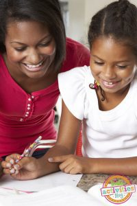 Helping your child with homework without doing it yourself!