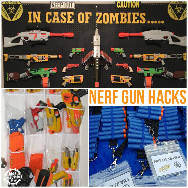 NERF Hacks