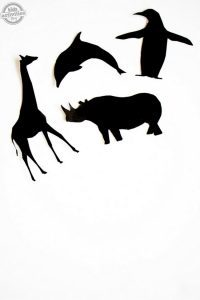 Printable Animal Shadow Puppets
