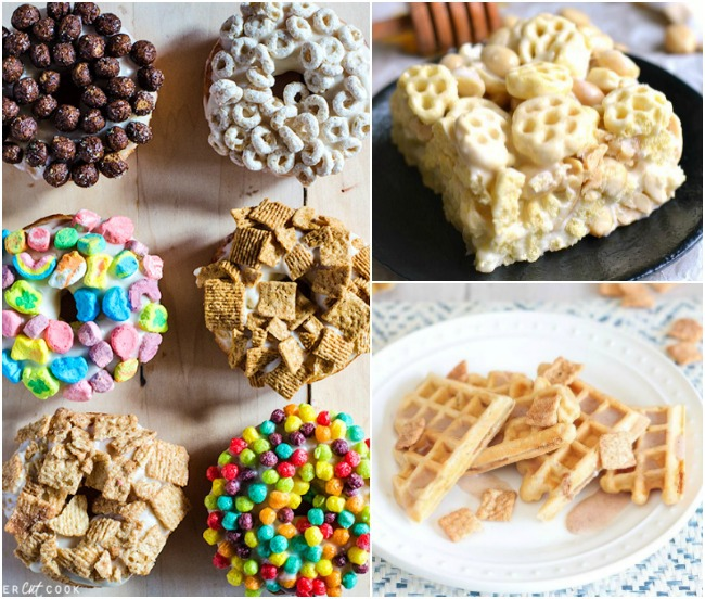 16 Super Cool Recipes Made With Cereal