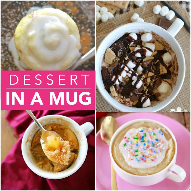 22 Mug Cake Recipes