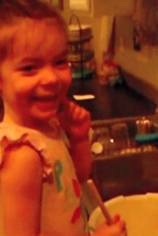 Little Girl Accidentally Adds 'Special Ingredient' To Her Blueberry Muffins