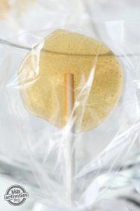 Homemade Suckers: Lemon Honey