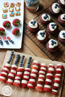 5 Red, White & Blue July 4th Treats