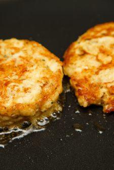 Poole's Cornbread Crab Cakes