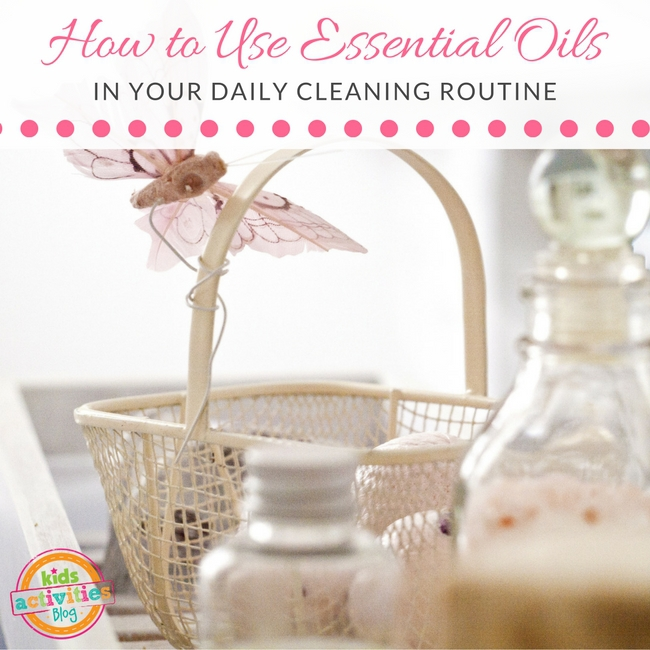 How to Use Essential Oils in Your Daily Cleaning Routine