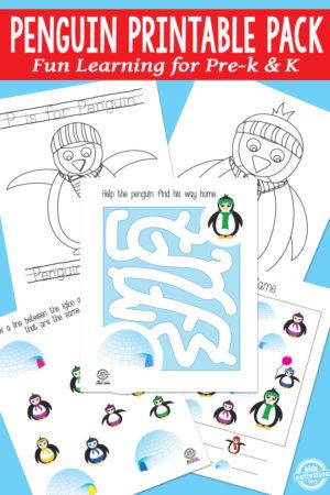 Penguin Printable Pack