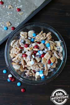 Summer Red, White & Blue Trail Mix