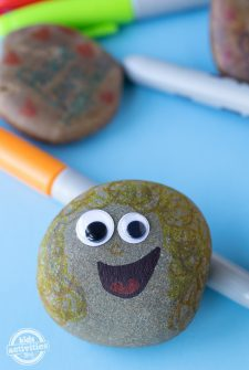 Super Easy Sharpie Rock Art