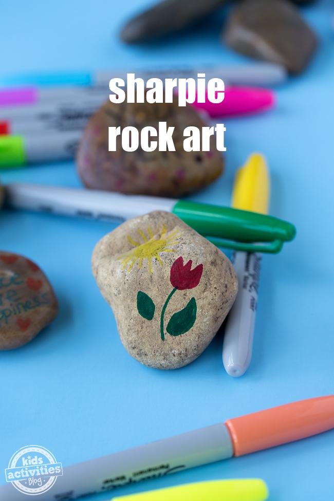 Sharpie Rock Art