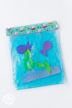 Under the Sea Squishy Bag