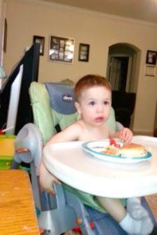 Baby Engages Dad In Hilarious 'Sharing' Debate
