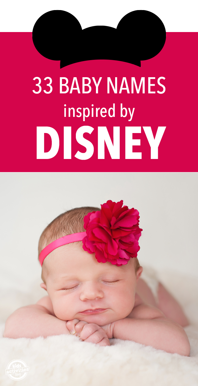 33 Baby Names Inspired by Disney