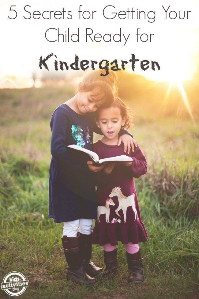 5 Secrets for Getting Your Child Ready for Kindergarten