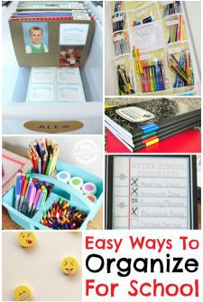 How to Organize for School