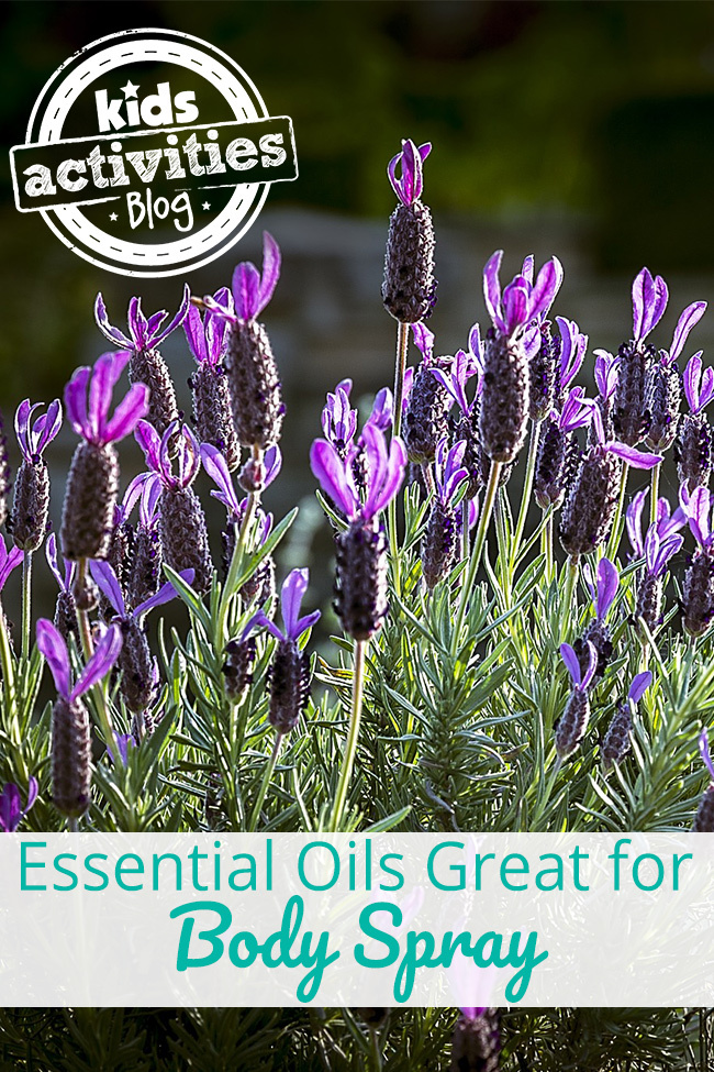 DIY Essential Oil Body Spray