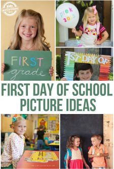24 Ideas for Adorable First Day of School Pictures