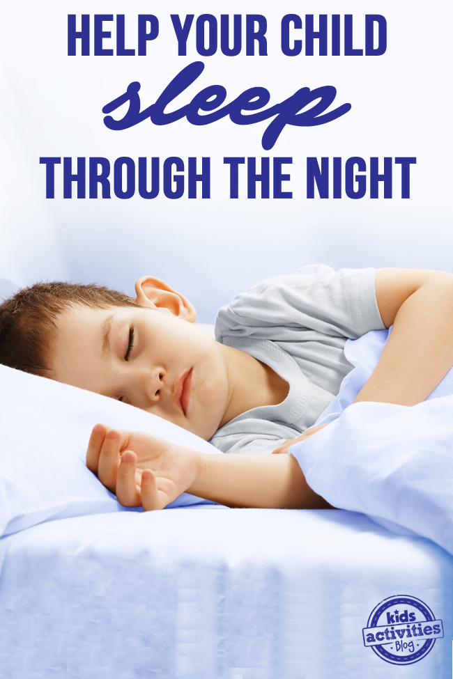 Help Your Child Sleep Through the Night