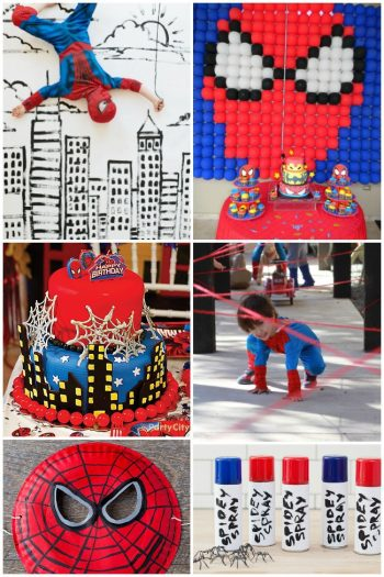 easy spider-man party ideas