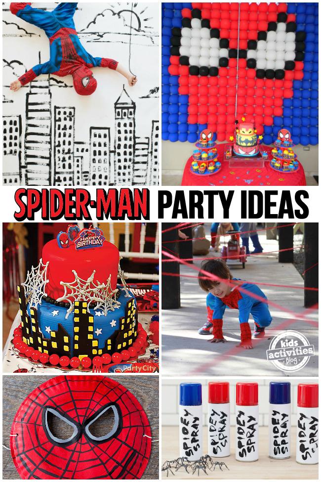 spider-man party ideas