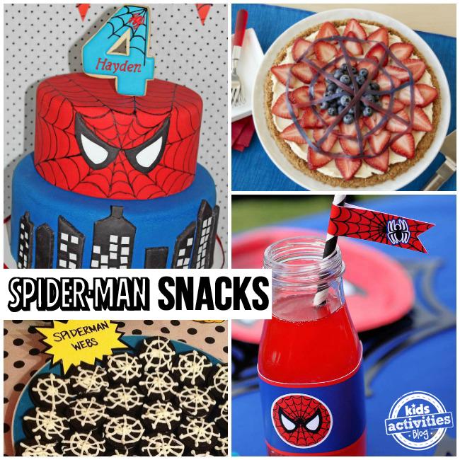 Spider-Man Snacks