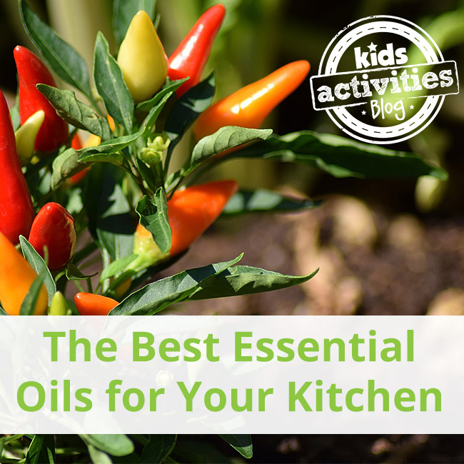 The Best Essential Oils for the Kitchen