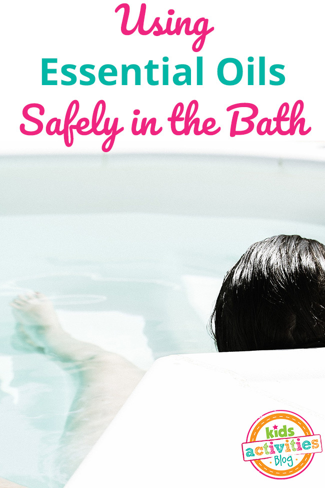 Using Essential Oils in the Bath