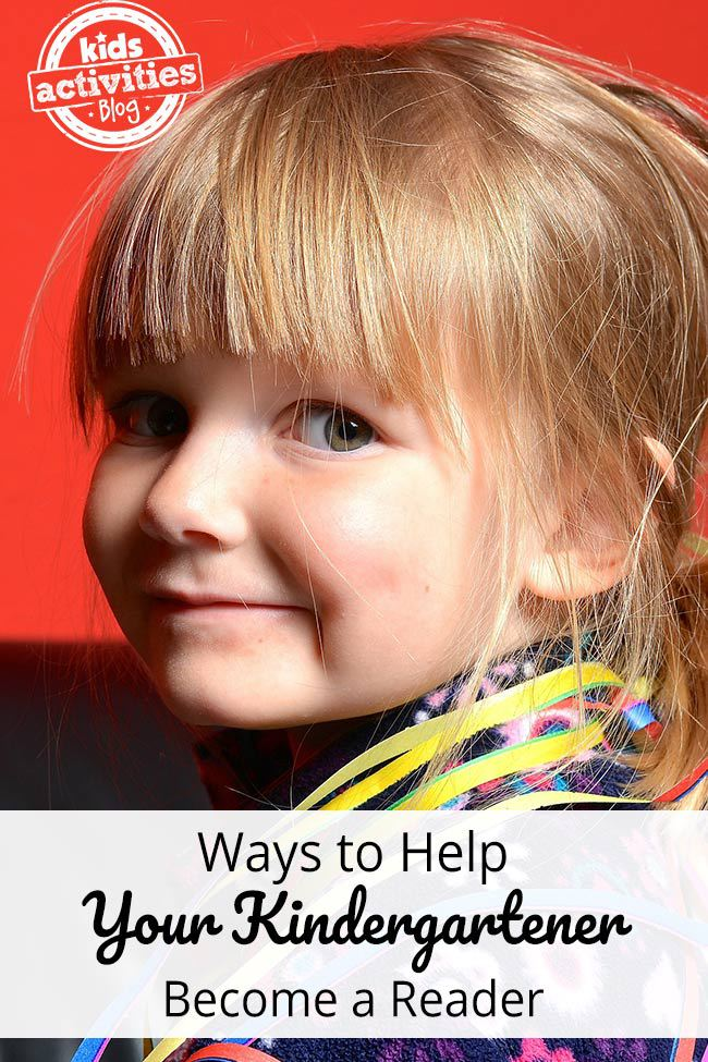 Ways to Help Your Kindergartener Become a Reader