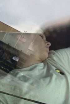Teen Triggers Call To The Police After Falling Into A Deep Sleep In The Car!