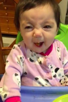 Baby Girl Tries Sweet Potatoes For The First Time…Is Not Exactly A Fan