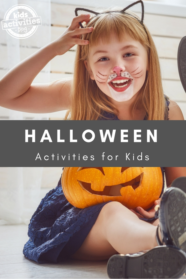 Halloween Ideas for Kids - 50+ Activities, Yummy Recipes, Costume Ideas, and More!
