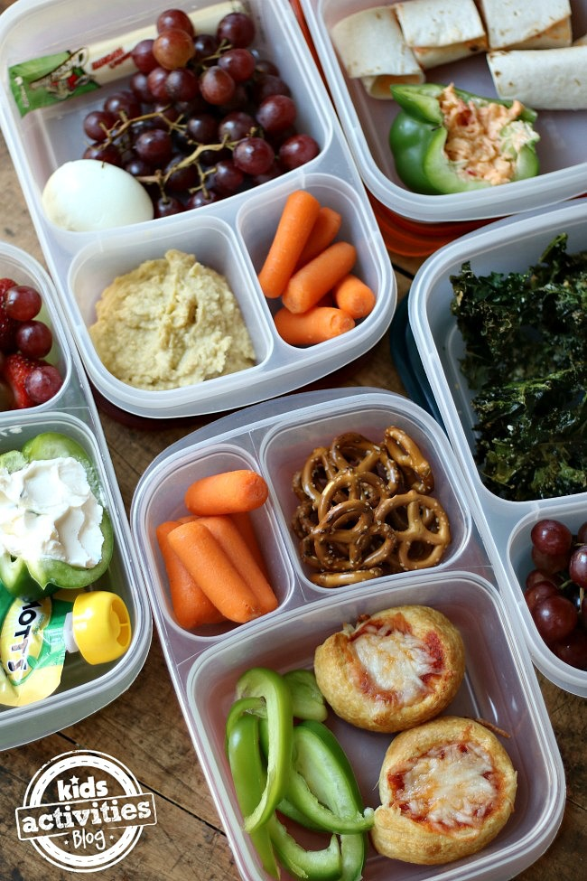 5 Meatless & Nut-Free Back to School Lunch Ideas