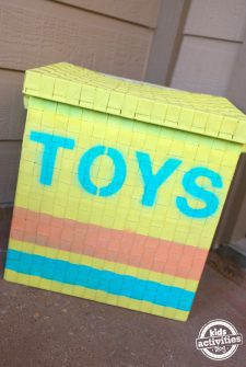 DIY Outdoor Toy Box