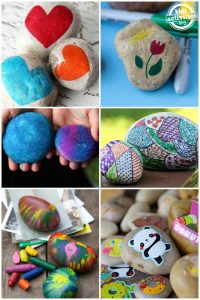 20 Crazy Fun Rock Decorating Ideas for Kids - Dallas Single Parents