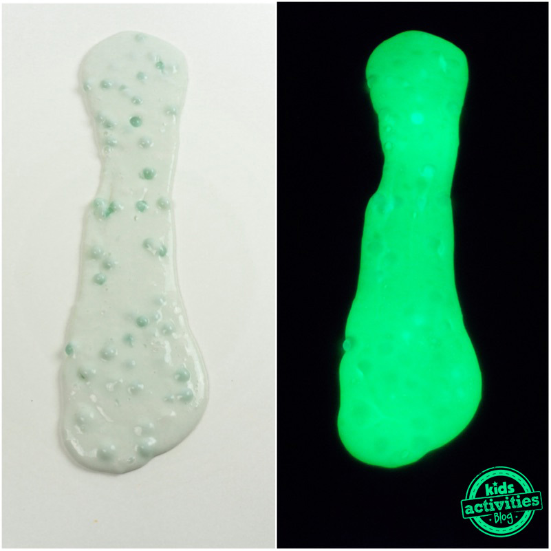 Glow in the Dark Slime Compared