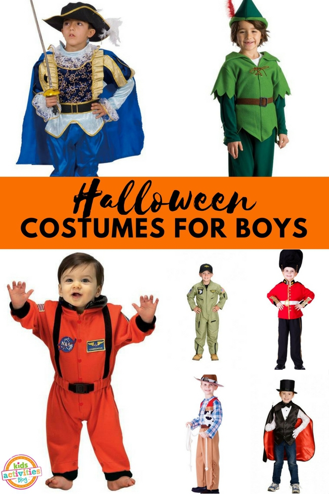 15 Halloween Costumes For Boys Fun Ideas For Kids Activities Blog