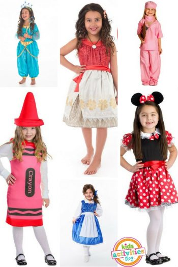 Halloween Costumes for Girls - 15 Great Ideas for Girls Halloween Costumes - From Princesses to a Doctor to a Chef!